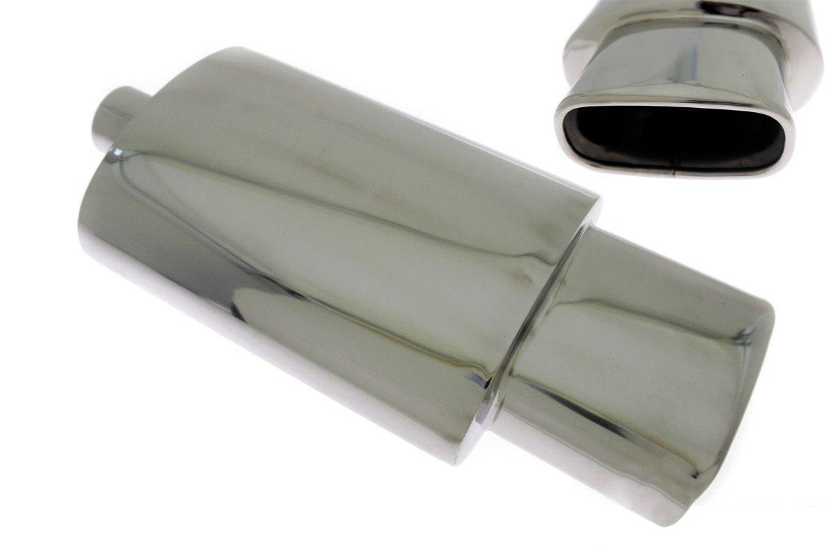 Tłumik Końcowy TurboWorks 90x170mm wejście 63,5mm - GRUBYGARAGE - Sklep Tuningowy